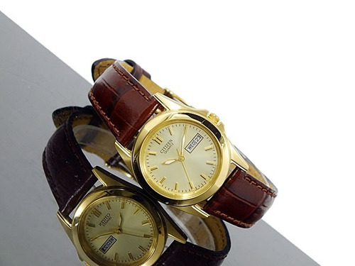 d22463808c0 Relógio De Pulso Feminino Citizen Quartz Gold Tone - R  480