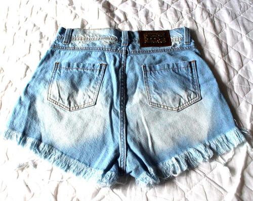 feminino destroyed shorts