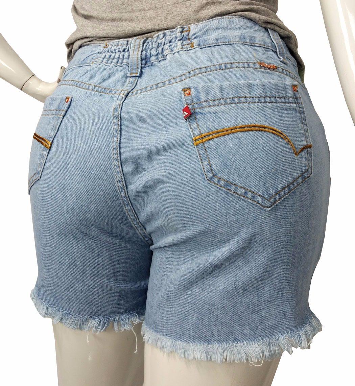 9c1b02086b Carregando zoom... shorts jeans feminino tamanhos grandes plus size  destroyed