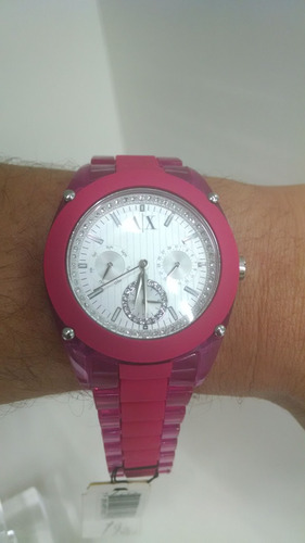 feminino exchange relógios armani