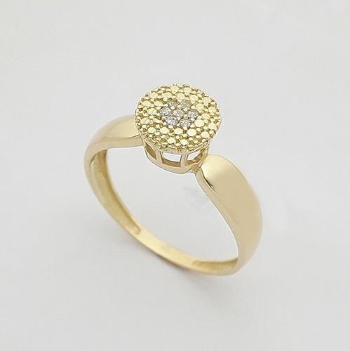 feminino feminino anel solitário