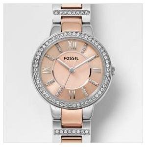 e0237af238bed feminino fossil relógio · relógio feminino fossil es3405 rose prata novo  original. Carregando zoom.