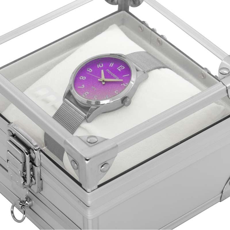 9fa4771b0bd Carregando zoom... kit relógio mondaine feminino com porta jóias  53547l0mkne1k1