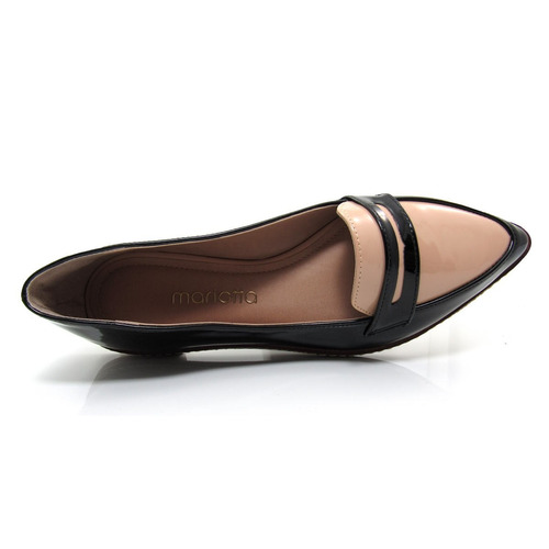 db02c3ef6 feminino mariotta sapato · sapato feminino mocassim bico fino mariotta 16190 -71
