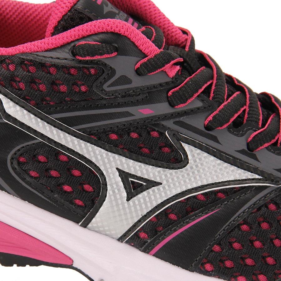 608555822d Tênis Running Feminino Mizuno Iron - Pto rosa - R  129
