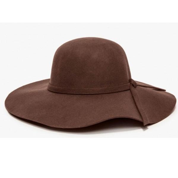 4b856cd5e002f feminino moda chapéu floppy · chapéu floppy feminino moda tendência retrô  100% lã pura. Carregando zoom.