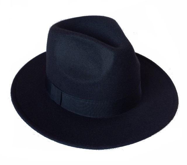 Chapéu Estilo Fedora Panamá Preto Masculino Feminino Moda - R  69 9ce441e9266