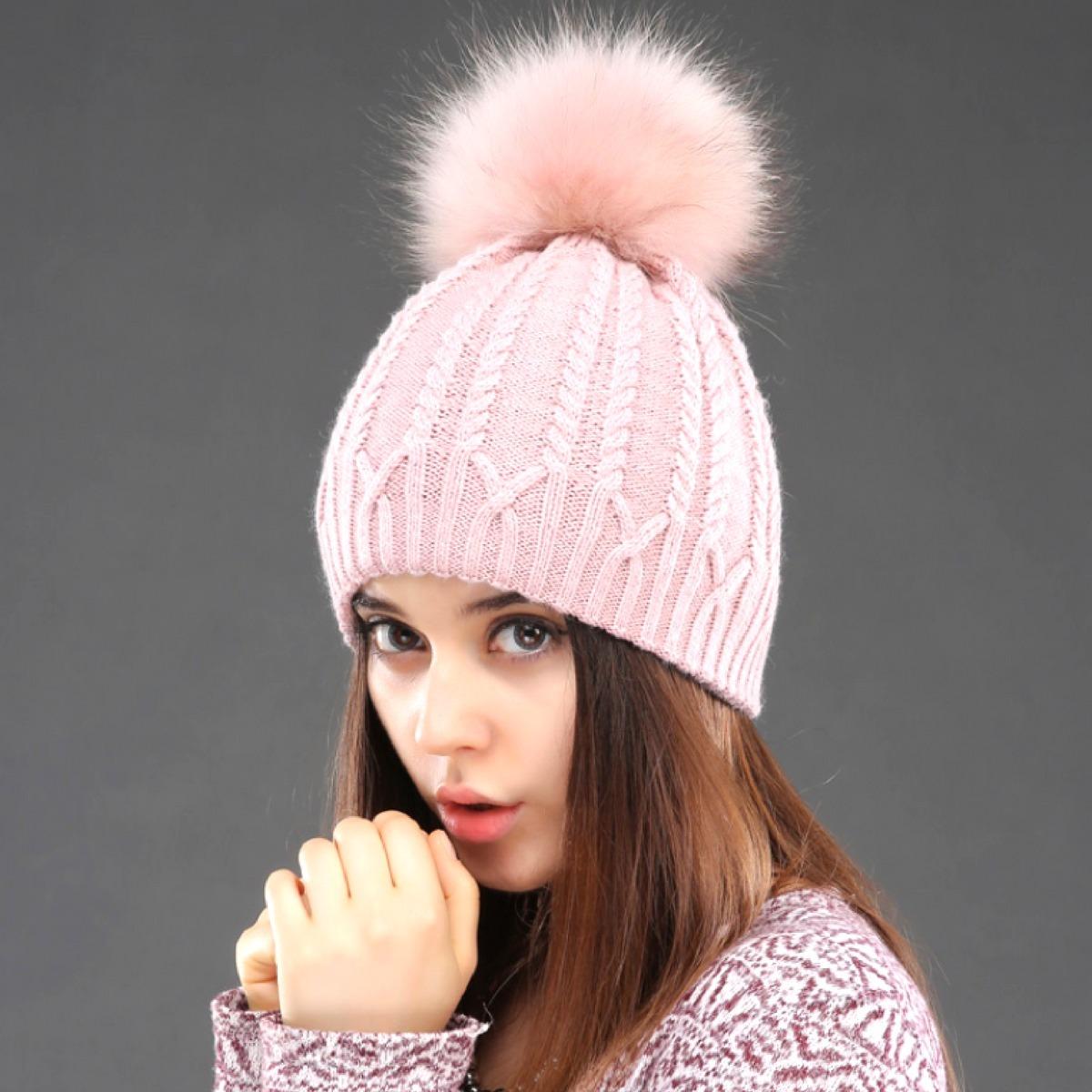 Touca Gorro Feminino Moda Inverno Das Meninas - R  147 ded3f832493