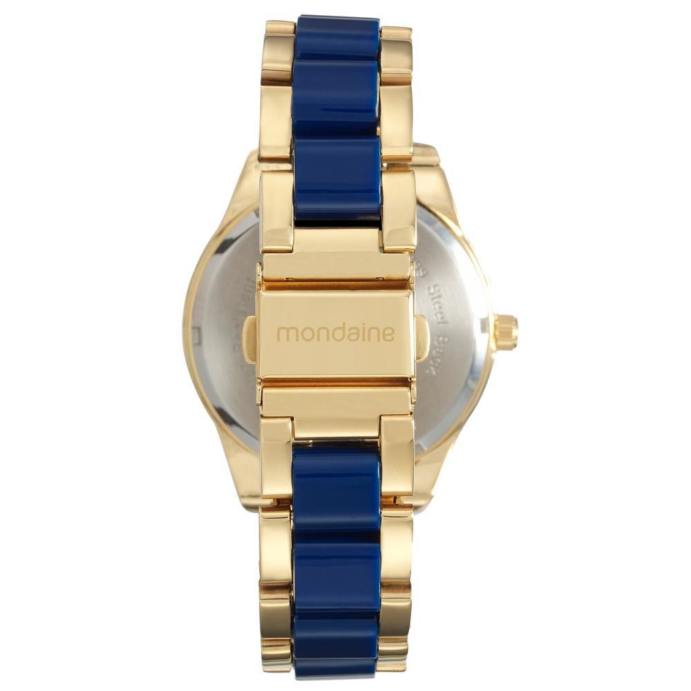 Relógio Feminino Analógico Mondaine 76682lpmvde1 - Dourado - R  162 ... 950e23e0e8