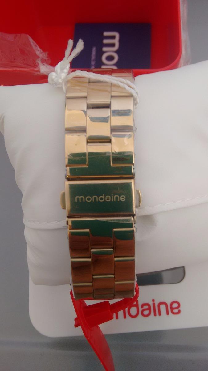 4b268282f9c Carregando zoom... lindo relógio feminino mondaine de luxo caixa de 4 cm