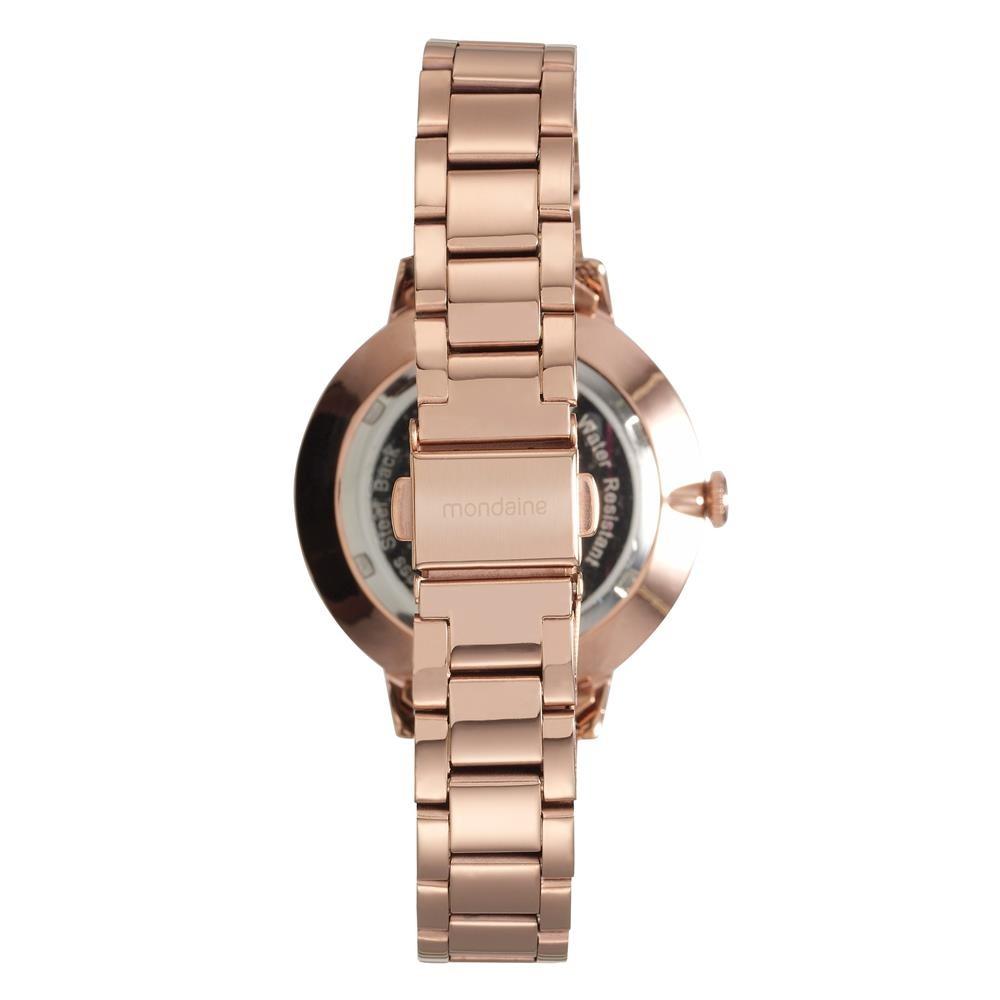 7f46d51342d Relógio Feminino Analógico Mondaine 89002lpmvre3 - Rosé - R  271