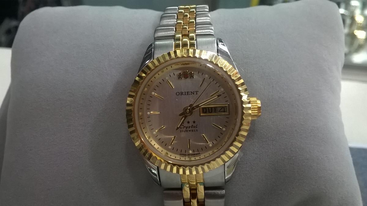 de9ea24bff6 Relógio Feminino Orient Automático 559eb3x Original - R  589