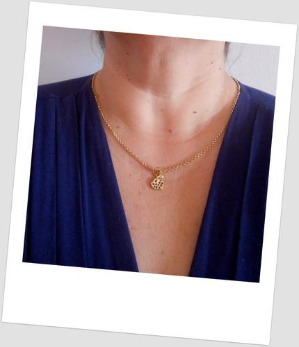 feminino ouro corrente colar