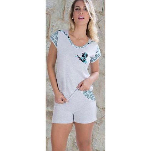 868263af5e0059 Pijama Curto Feminino Barato - Pijama Verão