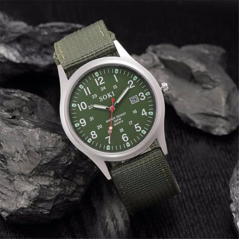 46a38ee9117 Carregando zoom... relógio feminino pulso soki verde promoção barato