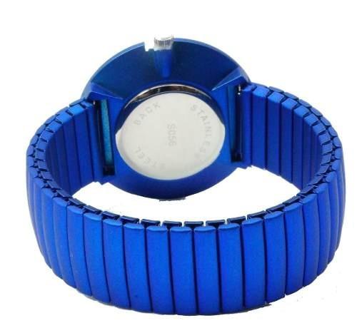 2252ced258c Relogio Feminino Belux De Pulso Quartz Original Azul Oferta - R  49 ...