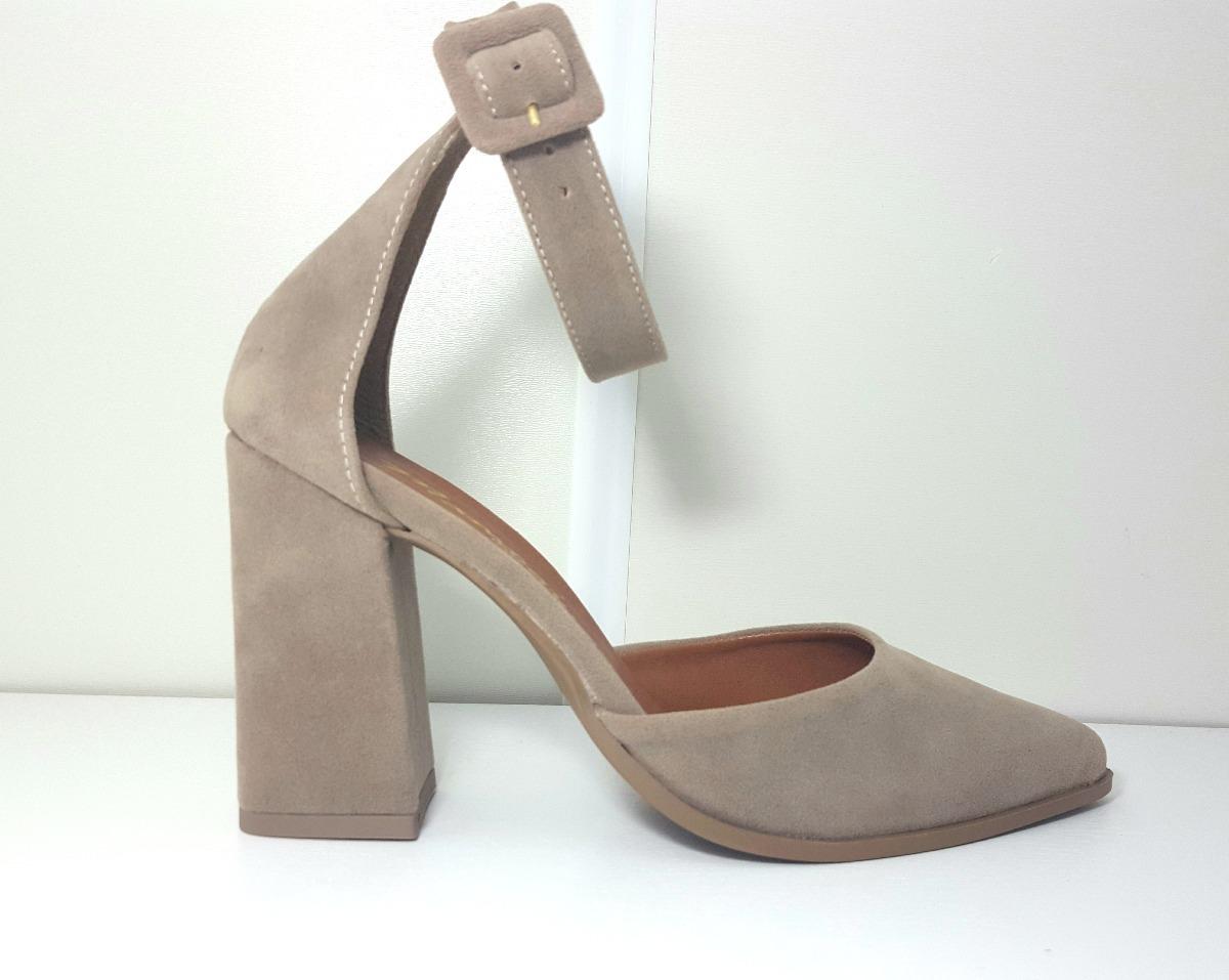 add1e5e018 Carregando zoom... sapato feminino scarpin salto grosso salto alto bico fino