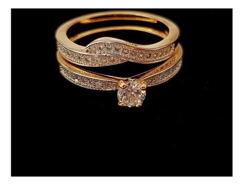 feminino solitário anel