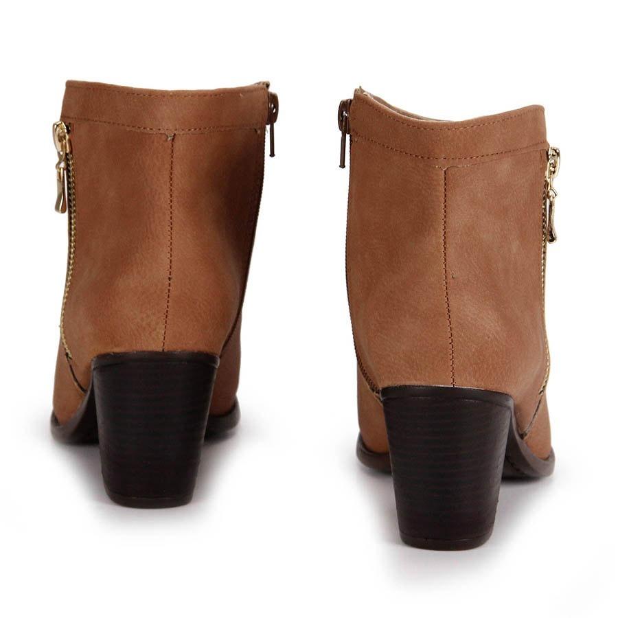 40ae838433 Promo Bota Ankle Boot Cano Curto Feminino Via Marte 17-20002 - R ...