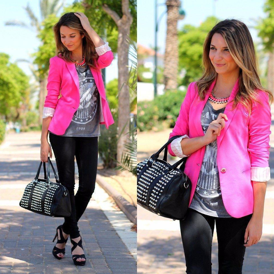 94d64e2298 Carregando zoom... blazer feminino rosa da zara   casaquinho forrado barato
