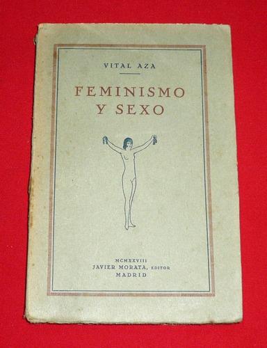 feminismo y sexo vital aza javier morata educación sexual