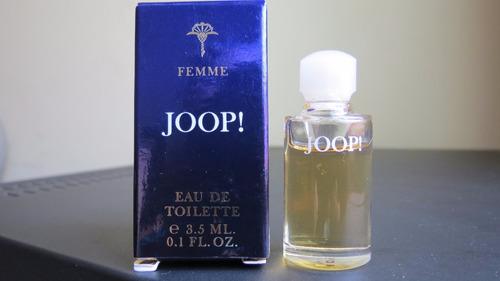 femme joop edt miniatura perfume importado vintage c cx 3,5m