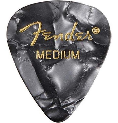 fender 351 shape classic picks - púa medium