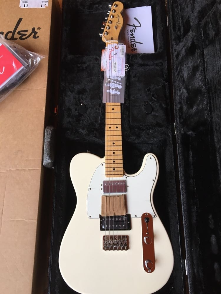 Question American standard telecaster vintage white opinion you