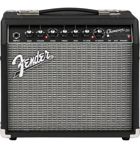 fender amplificador de guitarra eléctrica champion 20