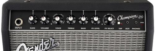 fender amplificador guitarra