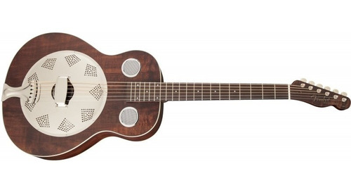 fender brown derby acustica resonador dobro id - soundgroup
