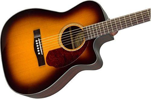 fender cc-140sce guitarra acústica-eléctrica de concierto -