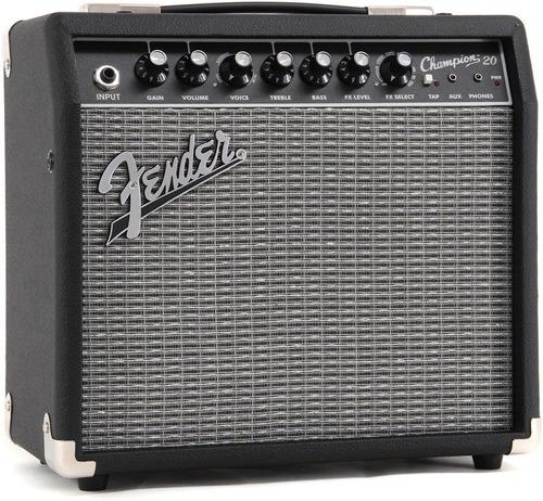 fender champion 20 amplificador guitarra eléctrica2330200000