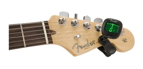 fender ft-1 afinador cromático tipo clip para guitarra