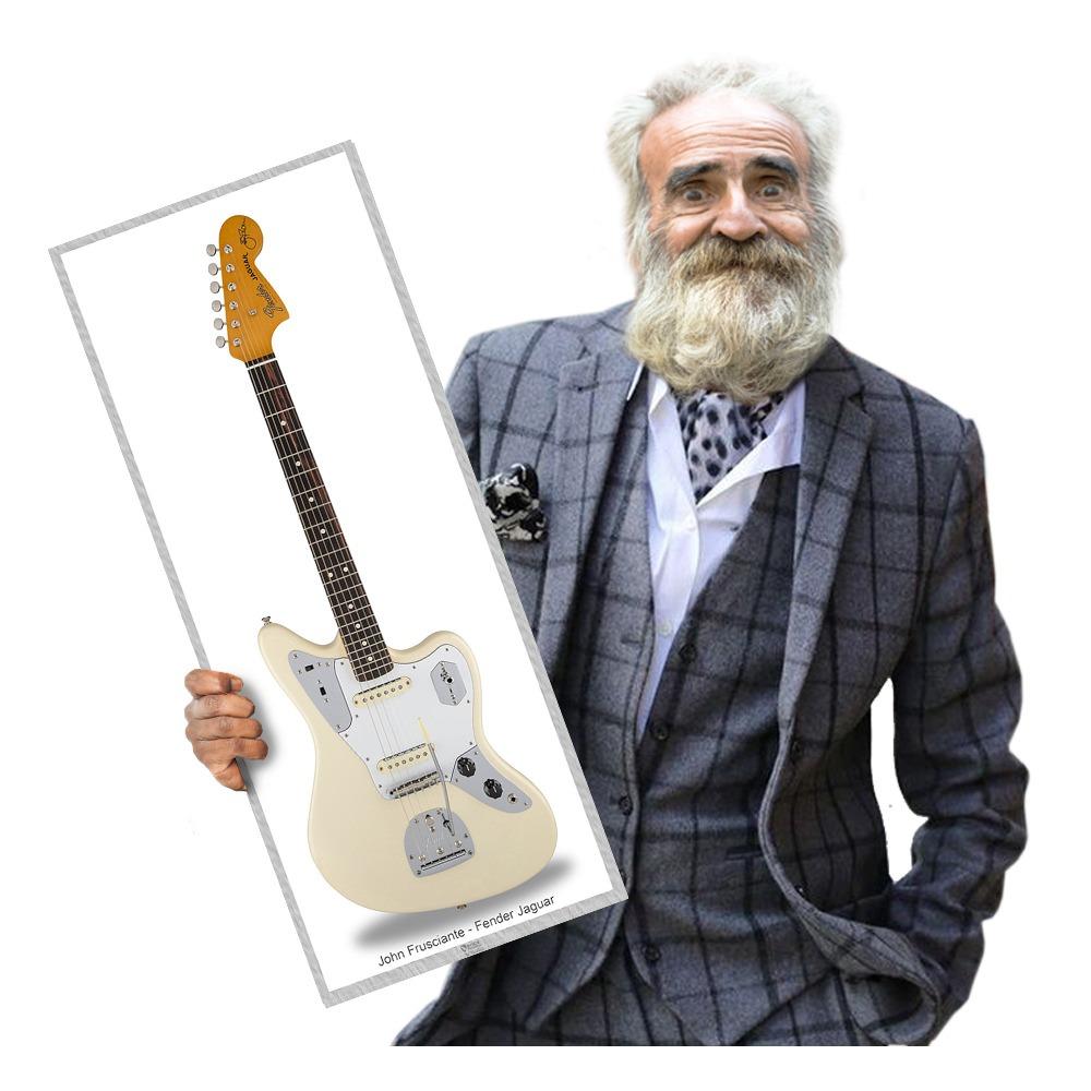 Fender Jaguar John Frusciante Rhcp Tamanho Medio Carregando Zoom