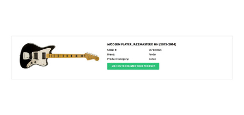fender jazzmaster modern player de remate!!!