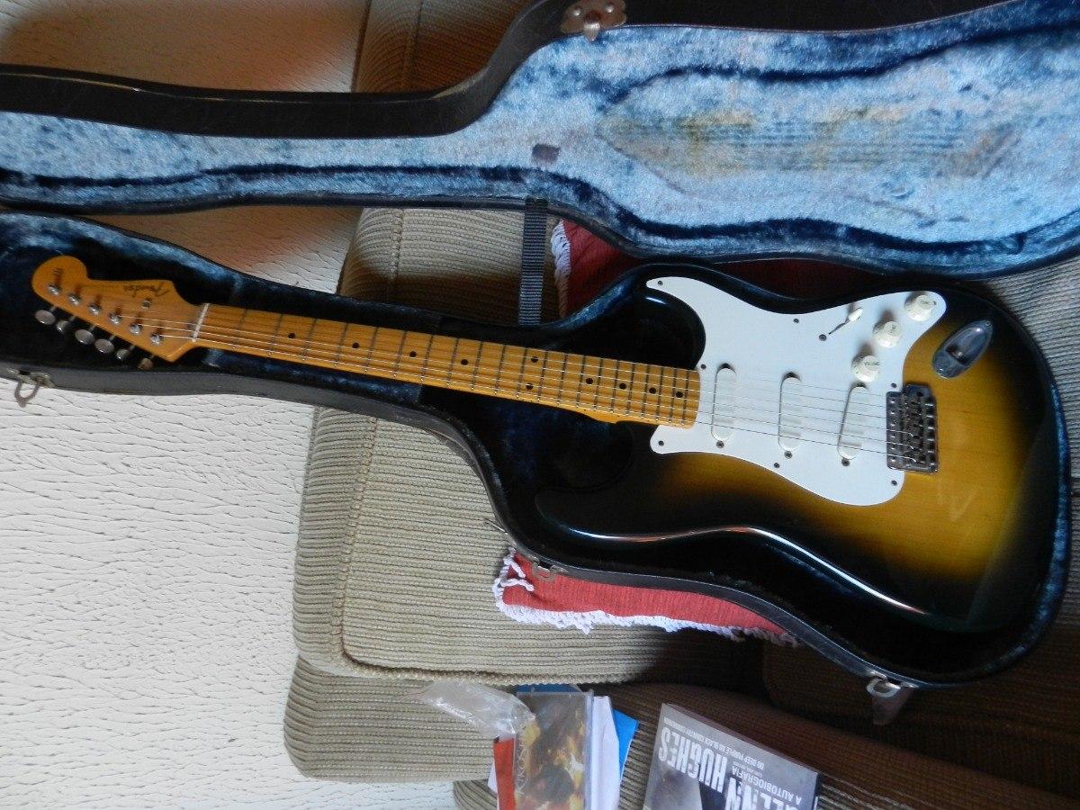 Fender Made In Japan Reedição De 57 Com Lacesensor Troco