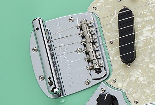 fender mustang guitar bridge assembly - chrome (japon)