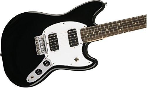 fender mustang guitarra electrica negro - envío gratis