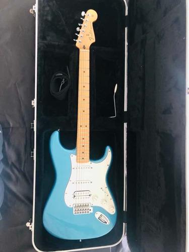 fender stratocaster hss lbp mexicana azul