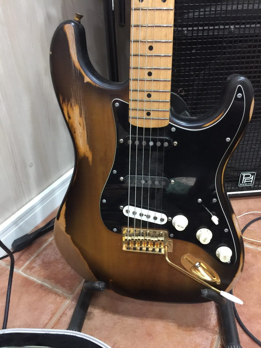 Fender Stratocaster Relic - Partscaster Mighty Mite Warmoth