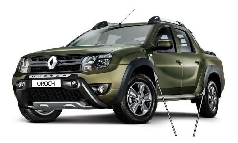 Dacia Duster Juego Completo de Guardabarros Originales, Parte Trasera + Parte Delantera Izquierda + Derecha