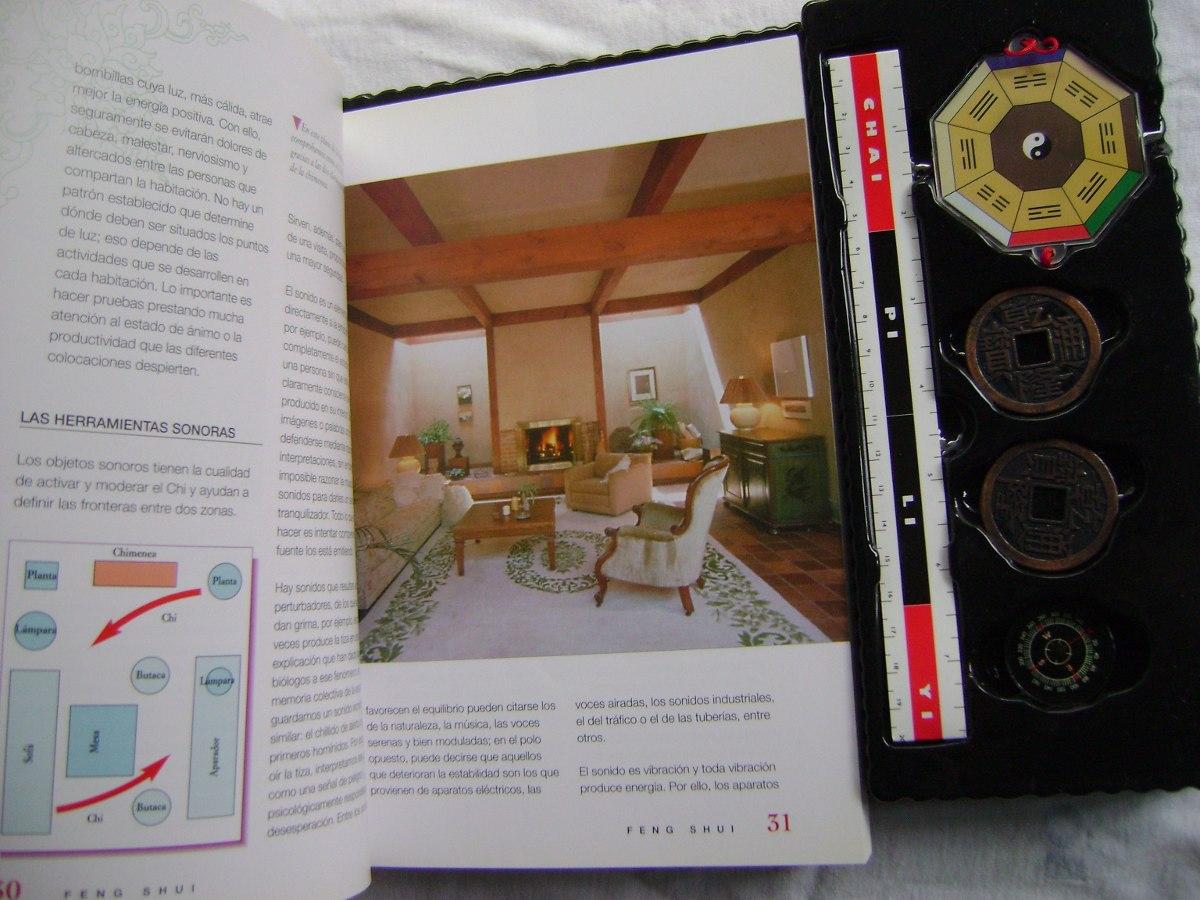 Feng shui estuche con libro br jula bagua monedas - Libros feng shui ...