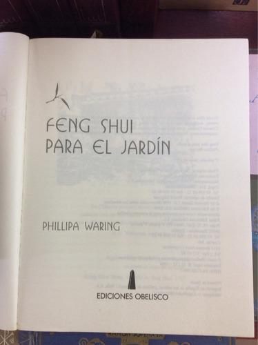 feng-shui para el jardín, philippa waring