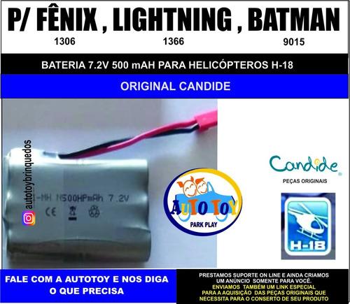 fenix 1306  h-18 - bateria 7.2 v 500mah
