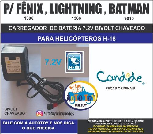 fenix 1306  h-18 - carregador 7.2v - bivolt chaveado