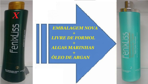 fenix liss progressiva 0%formol  passo unico 1000ml