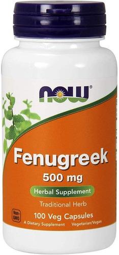 fenogreco fenugreek 100 pastillas . stock