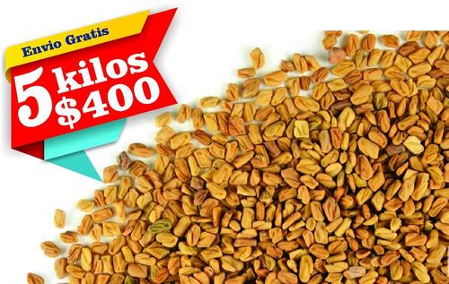 fenogreco semillas 5 kilos envio gratis