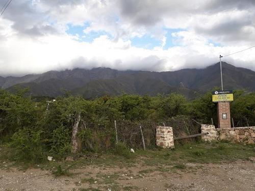 fenomenal terreno  en achiras  san javier !!!!
